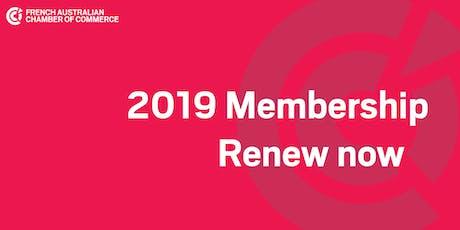 VIC | August Membership Registration tickets