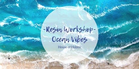 Resin Workshop - Ocean vibes tickets