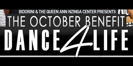 The October Benefit: Dance4Life tickets