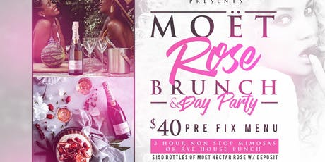 MOET ROSE BRUNCH DAY PARTY tickets