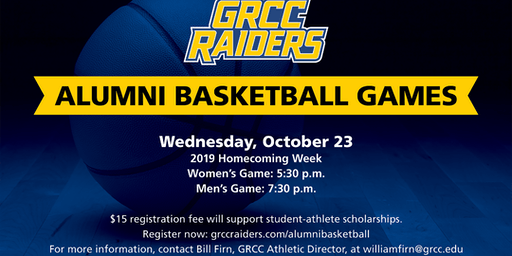 2019 GRCC Raiders Alumni Basketball Games