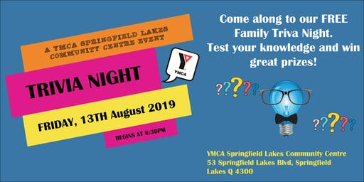 YMCA Family Trivia Night