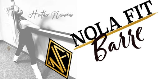Heather Newman Booty Barre Class - www.GlitterU.com