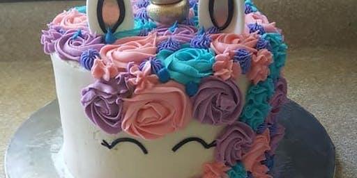 Mommy and Me Unicorn Cake
