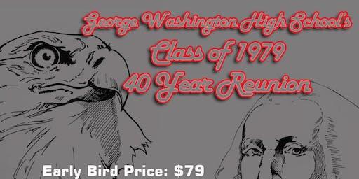 GWHS San Francisco Class of 79 40-year Reunion