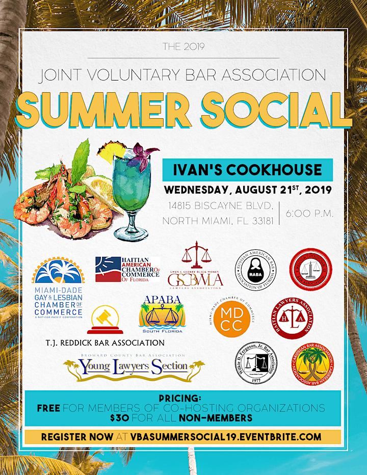 Joint VBA Summer Social 2019 image