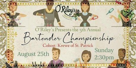 Bartender Championship - O'Riley's Irish Pub Downtown tickets