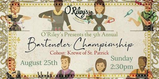 Bartender Championship - O'Riley's Irish Pub Downtown