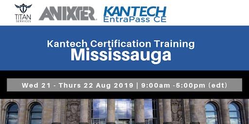 Mississauga Kantech CE Certification - Anixter