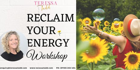 Reclaim Your Energy Half-day Workshop tickets