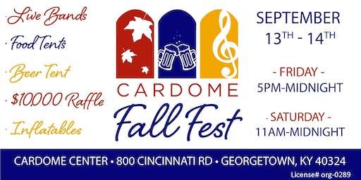 Cardome Fall Fest