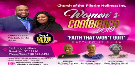 Faith That Won't Quit  Women's Conference tickets