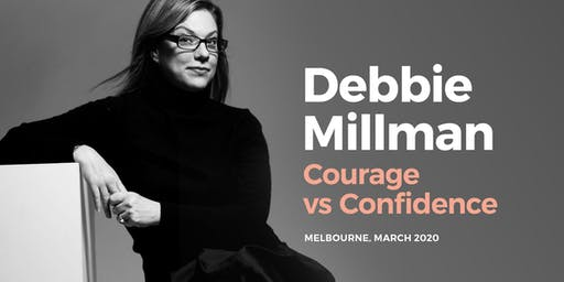 Debbie Millman, Courage vs Confidence presented by Creative Women's Circle