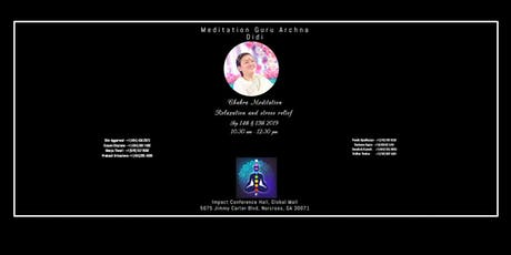 Chakra Meditation Relaxation and Stress Relief tickets
