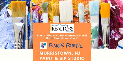 Paint & Sip with Women's Council  North Central