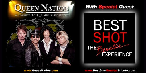 QUEEN NATION WITH SPECIAL GUEST BEST SHOT AT THE COACH HOUSE!
