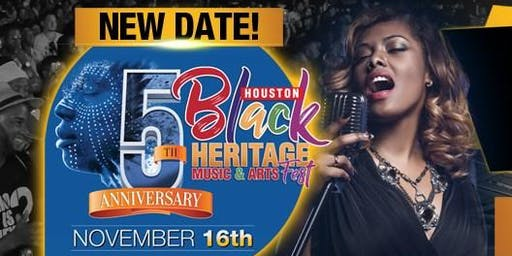 Houston Black Heritage Music & Arts Festival - Calling All Vendors