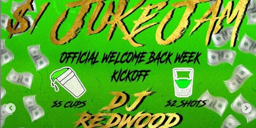 $1 Juice Jam | OFFICIAL WELCOME BACK KICKOFF