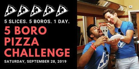 5 Boro Pizza Challenge 2019 tickets