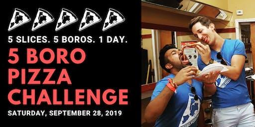 5 Boro Pizza Challenge 2019