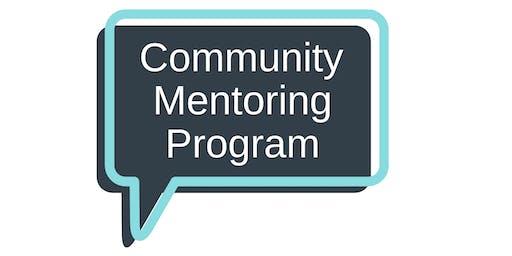 Community Mentoring at CCNB - Information Evening