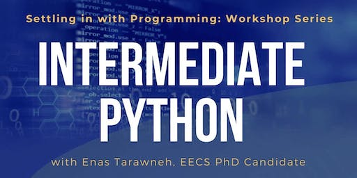 Settling in with Programming (PYTHON) - Workshop 2