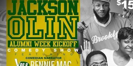 Jackson-Olin Alumni Week Comedy Show tickets
