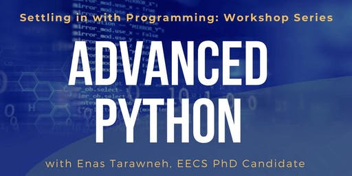 Settling in with Programming (PYTHON) - Workshop 3