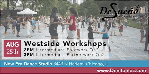 Desueño Dance Salsa On2 Intermediate Footwork Workshop - August 25th 2019