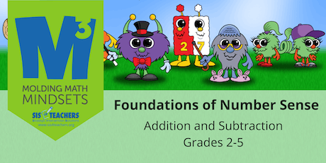 2019-2020 M3 Series: Foundations of Number Sense: Addition/Subtraction (Grades 2-5) tickets