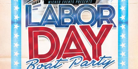 Labor Day Boat Party tickets