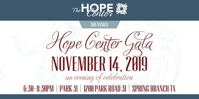 3rd Annual Hope Center Gala