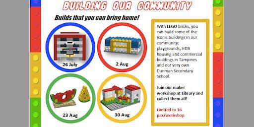 Maker's@DMNS Library: Brick Minibuilds (LEGO)-Building our community