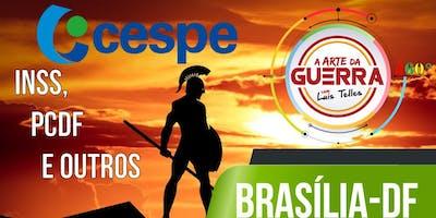 BRASÍLIA-DF | ARTE DA GUERRA BLACK SIGNATURE 360° - CESPE - PCDF- INSS  E OUTROS