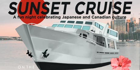 Red and White Sunset Cruise on the Stella Borealis - Japanese themed event tickets