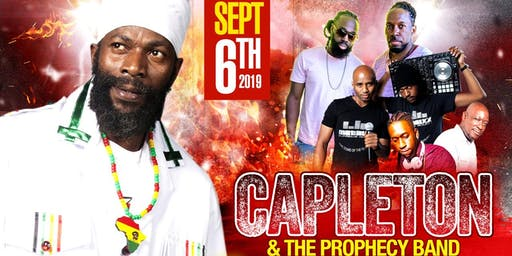 Capleton live in concert w/ Prophecy Band