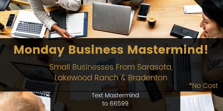 Business Monday Mastermind (No Pitches, Only Solutions) tickets