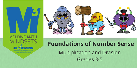 2019-2020 M3 Series: Foundations of Number Sense: Multiplication/Division (Grades 3-5) tickets