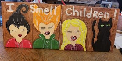 Hocus Pocus Mom/Friend &Me Paint Event /Fall River