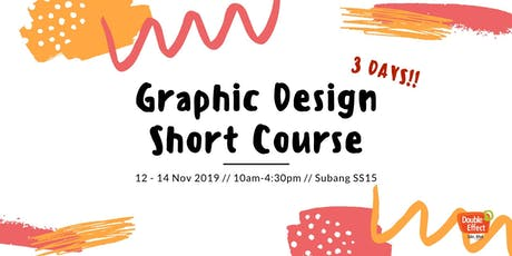 Graphic Design Part Time Course (NOV) tickets