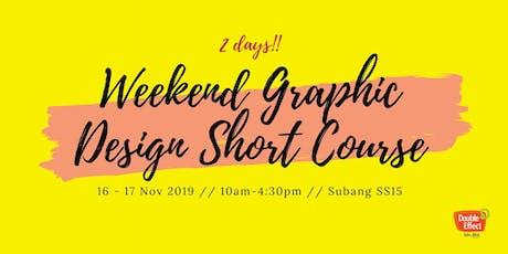 Weekend Graphic Design Short Course (NOV) tickets