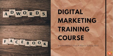Digital Marketing Training Course (DEC) tickets
