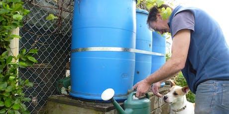 DIY Rainwater Harvesting tickets