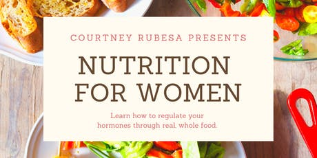Nutrition for Women tickets