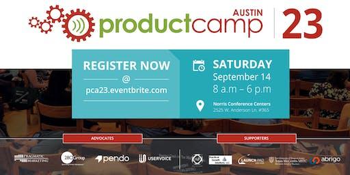 ProductCamp Austin 23 (PCA23)