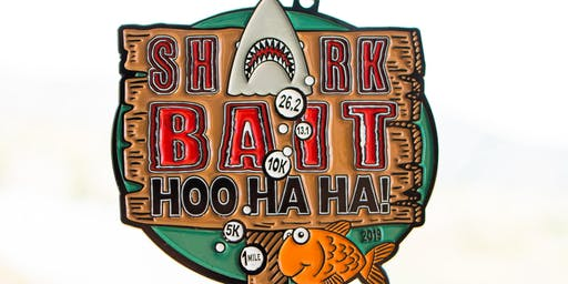 2019 Shark Bait Hoo Ha Ha 1M, 5K, 10K, 13.1, 26.2 -Green Bay