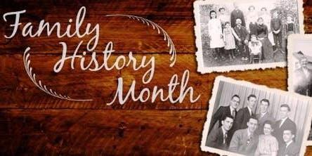 SJ Creators - Family History Event