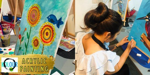 ACRYLIC PAINTING SESSION