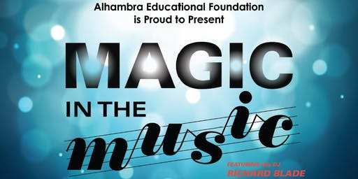 Magic In The Music featuring 80's DJ Richard Blade