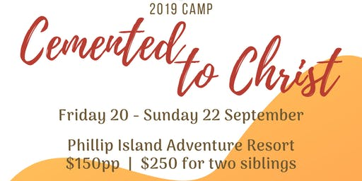 2019 Junior Youth Camp- Cemented to Christ
